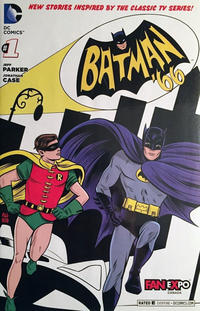 Cover Thumbnail for Batman '66 (DC, 2013 series) #1 [Fan Expo Canada Cover]