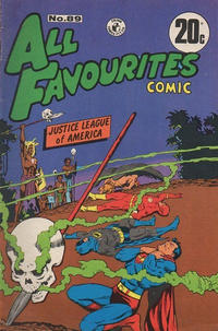 Cover Thumbnail for All Favourites Comic (K. G. Murray, 1960 series) #89