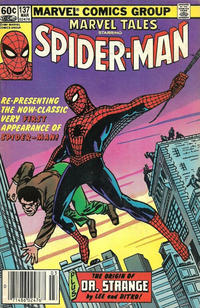 Cover Thumbnail for Marvel Tales (Marvel, 1966 series) #137 [Newsstand]