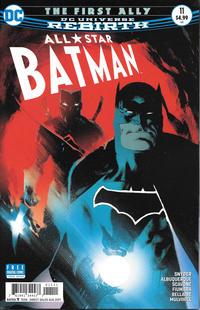 """Cover Thumbnail for All Star Batman (DC, 2016 series) #11 [Rafael Albuquerque """"Dark Knight"""" Cover]"""