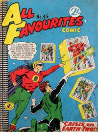 Cover Thumbnail for All Favourites Comic (K. G. Murray, 1960 series) #45