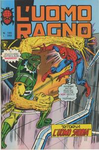Cover Thumbnail for L'Uomo Ragno [Collana Super-Eroi] (Editoriale Corno, 1970 series) #195