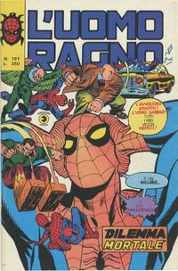 Cover Thumbnail for L'Uomo Ragno [Collana Super-Eroi] (Editoriale Corno, 1970 series) #191