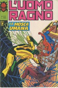 Cover Thumbnail for L'Uomo Ragno [Collana Super-Eroi] (Editoriale Corno, 1970 series) #217