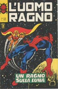 Cover Thumbnail for L'Uomo Ragno [Collana Super-Eroi] (Editoriale Corno, 1970 series) #228