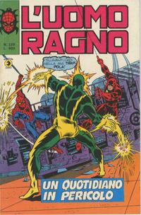 Cover Thumbnail for L'Uomo Ragno [Collana Super-Eroi] (Editoriale Corno, 1970 series) #229
