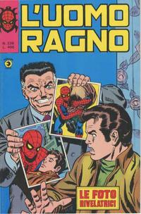 Cover Thumbnail for L'Uomo Ragno [Collana Super-Eroi] (Editoriale Corno, 1970 series) #236