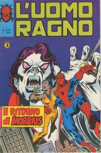 Cover Thumbnail for L'Uomo Ragno [Collana Super-Eroi] (Editoriale Corno, 1970 series) #237