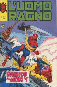 Cover Thumbnail for L'Uomo Ragno [Collana Super-Eroi] (Editoriale Corno, 1970 series) #231