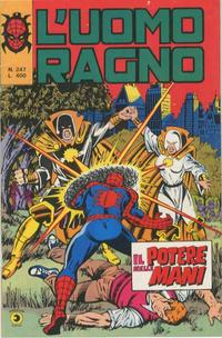 Cover Thumbnail for L'Uomo Ragno [Collana Super-Eroi] (Editoriale Corno, 1970 series) #247