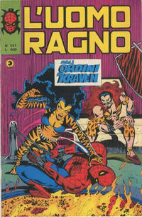 Cover Thumbnail for L'Uomo Ragno [Collana Super-Eroi] (Editoriale Corno, 1970 series) #251