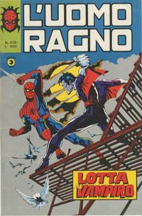 Cover Thumbnail for L'Uomo Ragno [Collana Super-Eroi] (Editoriale Corno, 1970 series) #238