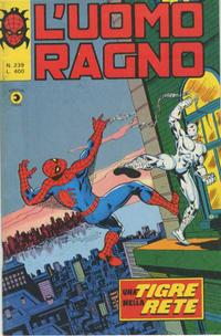 Cover Thumbnail for L'Uomo Ragno [Collana Super-Eroi] (Editoriale Corno, 1970 series) #239