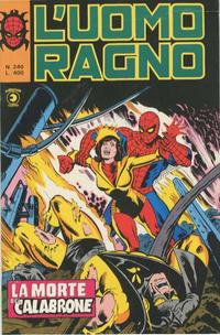 Cover Thumbnail for L'Uomo Ragno [Collana Super-Eroi] (Editoriale Corno, 1970 series) #240