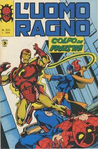 Cover Thumbnail for L'Uomo Ragno [Collana Super-Eroi] (Editoriale Corno, 1970 series) #271