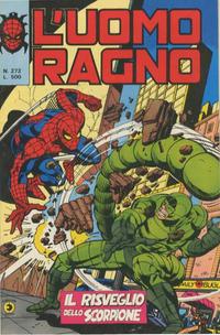 Cover Thumbnail for L'Uomo Ragno [Collana Super-Eroi] (Editoriale Corno, 1970 series) #272
