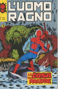 Cover Thumbnail for L'Uomo Ragno [Collana Super-Eroi] (Editoriale Corno, 1970 series) #252