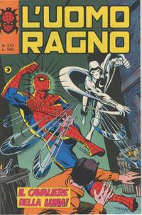 Cover Thumbnail for L'Uomo Ragno [Collana Super-Eroi] (Editoriale Corno, 1970 series) #273