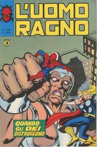 Cover Thumbnail for L'Uomo Ragno [Collana Super-Eroi] (Editoriale Corno, 1970 series) #254