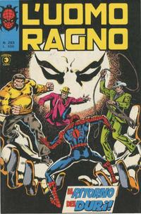Cover Thumbnail for L'Uomo Ragno [Collana Super-Eroi] (Editoriale Corno, 1970 series) #263