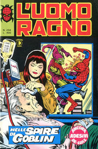 Cover Thumbnail for L'Uomo Ragno [Collana Super-Eroi] (Editoriale Corno, 1970 series) #258