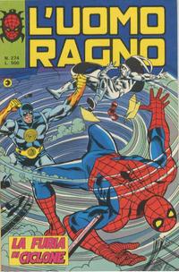 Cover Thumbnail for L'Uomo Ragno [Collana Super-Eroi] (Editoriale Corno, 1970 series) #274