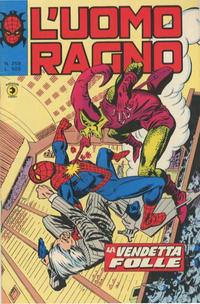 Cover Thumbnail for L'Uomo Ragno [Collana Super-Eroi] (Editoriale Corno, 1970 series) #259