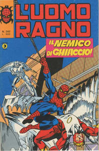 Cover Thumbnail for L'Uomo Ragno [Collana Super-Eroi] (Editoriale Corno, 1970 series) #262