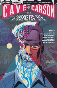 Cover Thumbnail for Cave Carson Has a Cybernetic Eye (DC, 2017 series) #1 - Going Underground