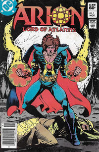 Cover Thumbnail for Arion, Lord of Atlantis (DC, 1982 series) #1 [Newsstand]