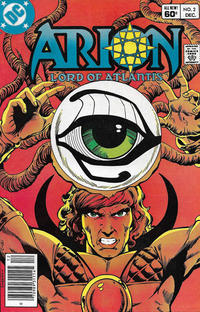 Cover Thumbnail for Arion, Lord of Atlantis (DC, 1982 series) #2 [Newsstand]