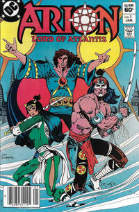 Cover Thumbnail for Arion, Lord of Atlantis (DC, 1982 series) #3 [Newsstand]