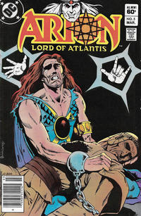 Cover Thumbnail for Arion, Lord of Atlantis (DC, 1982 series) #5 [Newsstand]