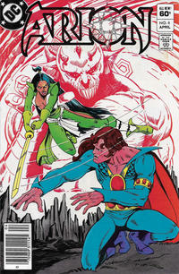 Cover Thumbnail for Arion, Lord of Atlantis (DC, 1982 series) #6 [Newsstand]
