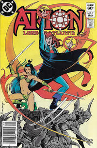 Cover Thumbnail for Arion, Lord of Atlantis (DC, 1982 series) #7 [Newsstand]