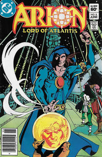 Cover Thumbnail for Arion, Lord of Atlantis (DC, 1982 series) #8 [Newsstand]