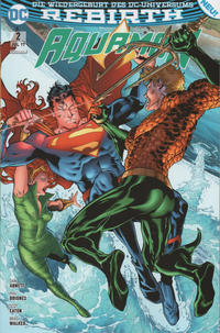 Cover Thumbnail for Aquaman (Panini Deutschland, 2017 series) #2 - Unaufhaltsam