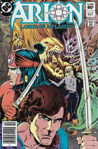 Cover Thumbnail for Arion, Lord of Atlantis (DC, 1982 series) #12 [Newsstand]