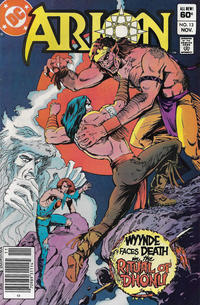 Cover Thumbnail for Arion, Lord of Atlantis (DC, 1982 series) #13 [Newsstand]