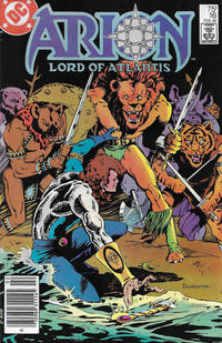 Cover Thumbnail for Arion, Lord of Atlantis (DC, 1982 series) #16 [Newsstand]