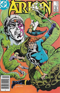Cover Thumbnail for Arion, Lord of Atlantis (DC, 1982 series) #17 [Newsstand]