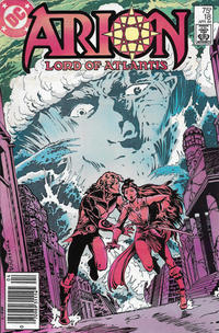Cover Thumbnail for Arion, Lord of Atlantis (DC, 1982 series) #18 [Newsstand]
