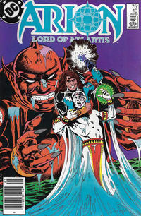 Cover Thumbnail for Arion, Lord of Atlantis (DC, 1982 series) #19 [Newsstand]