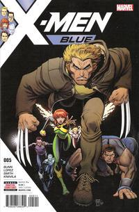 Cover Thumbnail for X-Men: Blue (Marvel, 2017 series) #5