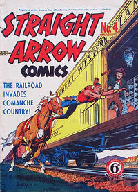 Cover Thumbnail for Straight Arrow Comics (Magazine Management, 1950 series) #4