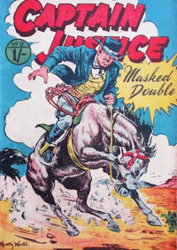 Cover Thumbnail for Captain Justice (Calvert, 1954 series) #9