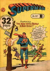 Cover Thumbnail for Superman (K. G. Murray, 1947 series) #121