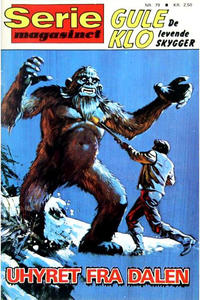 Cover Thumbnail for Seriemagasinet (Interpresse, 1968 series) #79