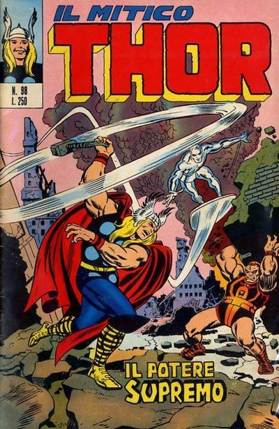 Cover for Il Mitico Thor (Editoriale Corno, 1971 series) #98