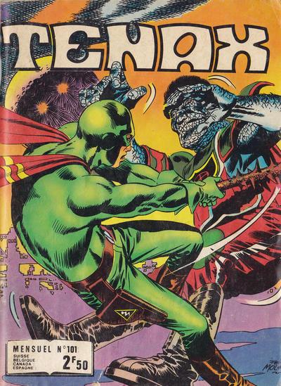 Cover for Tenax (Impéria, 1971 series) #101